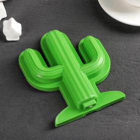 Форма для мороженого 'Кактус', цвет зелёный Ош