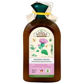 Бальзам-маска «Зелёная Аптека», против выпадения волос, 300 мл