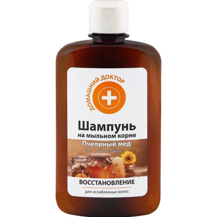 Шампунь Домашний доктор «Пчелиный мед», восстановление, 300 мл