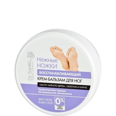 Крем-бальзам для ног Dr.Sante Нежные ножки, восстанавливающий, 100 мл