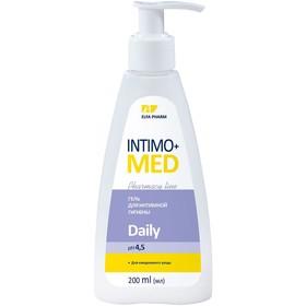 Гель для интимной гигиены Intimo Med Daily, pH 4,5, для ежедневного ухода, 200 мл