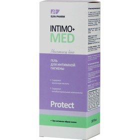 Гель для интимной гигиены Intimo+med Protect, при активном образе жизни, 200 мл