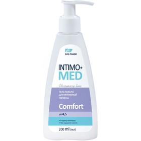 Гель-масло для интимной гигиены Intimo Med Comfort, pH 4,5, в период менопаузы, 200 мл