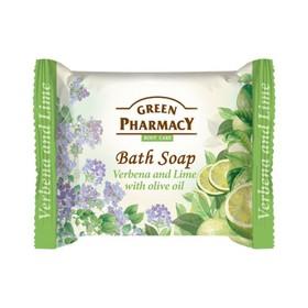 Туалетное мыло Green Pharmacy «Вербена и лайм», с оливковым маслом, 100 г
