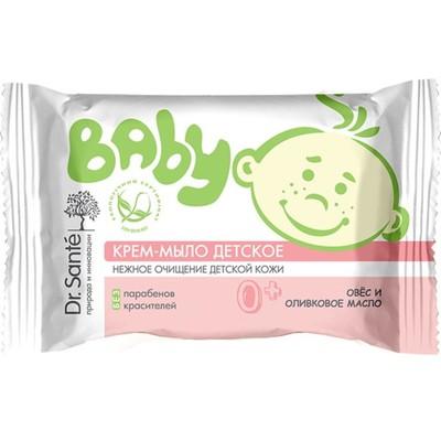 Крем-мыло Dr.Sante Baby «Овес, оливковое масло», детское, 0+, 90 г