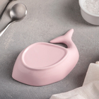 Блюдо «Кит», 13×7×3 см, цвет розовый - Фото 3
