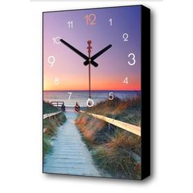 Часы настенные, серия: Город  Крым 'Ласточкино гнездо', 37х61 см Ош