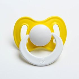 Соска-пустышка ортодонтическая, силикон, от 0 мес., «Саша», цвет МИКС
