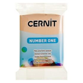 Полимерная глина запекаемая 56г Cernit Number One 423 персиковый CE0900056423