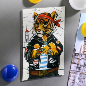 Магнит двусторонний «Владивосток. Тигр» Ош