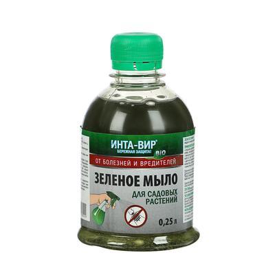 Фунгицид Зеленое мыло Инта Вир, 250 мл - Фото 1