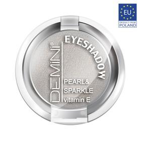 Тени для век DEMINI Pearl & Sparkle Eye Shadow с витамином Е, тон 620 лунная пыль