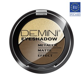 Тени для век DEMINI Metallic Matte Effect Eye Shadow, тон 801