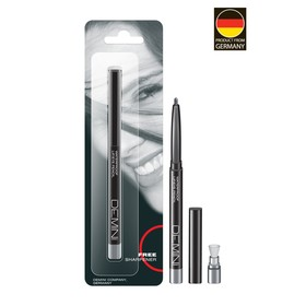 Карандаш для глаз DEMINI, с точилкой, № 012 Серебряная вуаль, перламутровый
