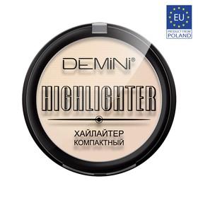 Хайлайтер компактный DEMINI Highlighter Compact, № 02 light gold