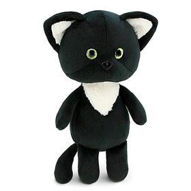 Мягкая игрушка « Чёрный котёнок», 20 см