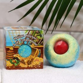 купить Бурлящий шар детский с игрушкой для мальчиков, 135 г