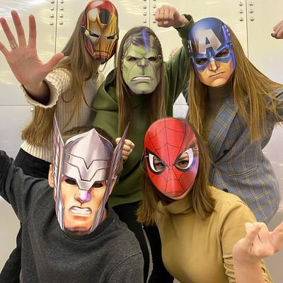 Набор карнавальных масок Микс 4, 5 шт - Фото 1