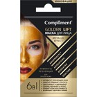 Маска для лица 6 в 1 Compliment Golden Lift, лифтинг и регенерация, для зрелой кожи, 7 мл