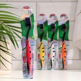 Зубная щётка Vilsen brush «Чёрная принцесса», средней жёсткости, цвет микс