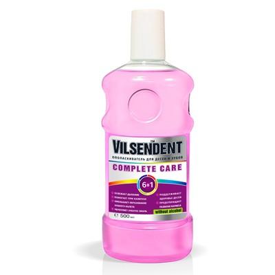 Ополаскиватель для полости рта Vilsendent Complete Care, цвет сиреневый, 500 мл