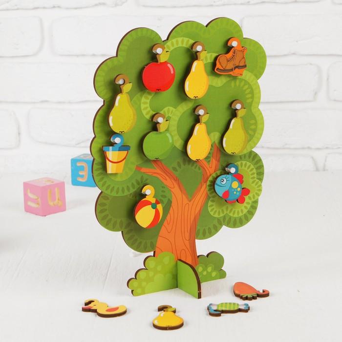Сортер-дерево Что на дереве растет