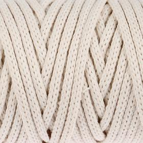 Шнур для рукоделия хлопковый 'Софтино' 100% хлопок 4 мм, 50м/140гр (неокрашенн. Хлопок) Ош