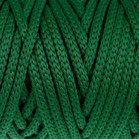 Шнур для рукоделия полиэфирный 'Софтино' 4 мм, 50м/110гр (т. зелёный) Ош