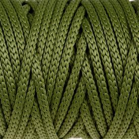 Шнур для рукоделия полиэфирный 'Софтино' 4 мм, 50м/110гр (оливковый) Ош