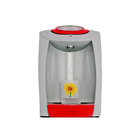Пурифайер VATTEN FD101TKM SMILE, компрессор, нагрев 7.5 л/ч, охлажд. 16 л/ч, серый/красный