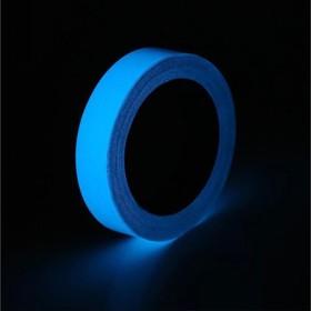 Фотолюминесцентная самоклеящаяся лента TORSO, 1.5х100 см, синие свечение Ош