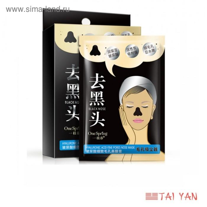 Маска-пленка для носа OneSpring, угольная,1 шт, 6 г