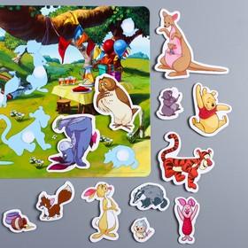 Развивающая игра на липучках, конструктор «Веселые липучки», Медвежонок Винни и его друзья