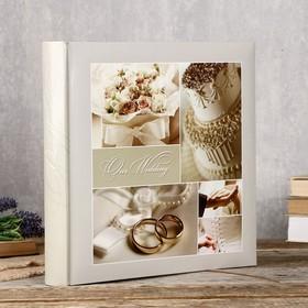 Фотоальбомы Fotografia традиционный, 30 листов, 29х29 см, 'Свадебный' Ош