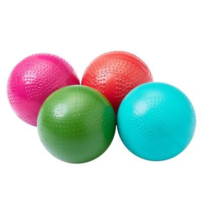 Мяч фактурный, диаметр 10 см, цвета МИКС - Фото 1