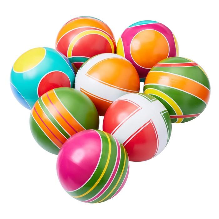 Мяч, диаметр 12,5 см, цвета МИКС