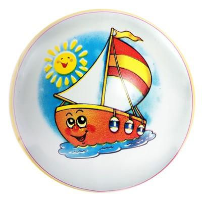 Мяч, диаметр 15 см, цвета МИКС - Фото 1