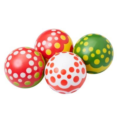 Мяч, диаметр 20 см, цвета МИКС - Фото 1