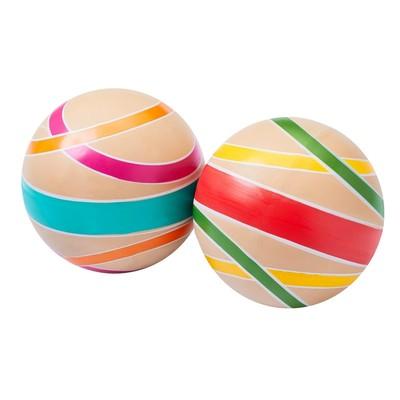Мяч «Сатурн эко», диаметр 12,5 см, цвета МИКС - Фото 1