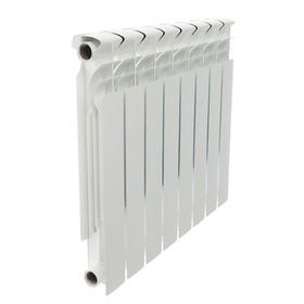 УЦЕНКА Радиатор биметаллический Halsen, 500 х 80 мм, 8 секций