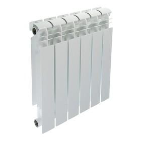 УЦЕНКА Радиатор биметаллический Halsen, 500 х 100 мм, 6 секций