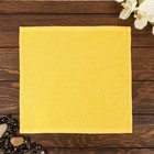 Полотенце Ocean 30х30 см, желтый, хлопок 100%, 360 г/м2