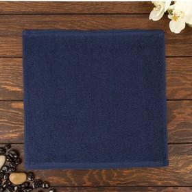 Полотенце Ocean 30х30 см, синий, хлопок 100%, 360 г/м2 Ош