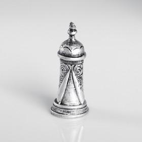 Сувенир полистоун 'Башня', серебряный Ош