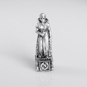 Сувенир полистоун 'Жозефина', серебряный Ош
