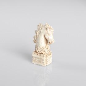Сувенир полистоун 'Конь', белый Ош