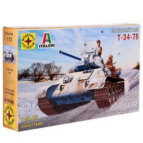 Сборная модель «Советский танк Т-34-76», масштаб 1:72
