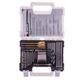 Набор сверл и бит MATRIX PRO 725650, 50 предметов, по металлу/бетону/дереву, перки, биты Ош