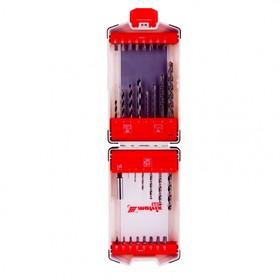 Набор сверл и бит MATRIX PRO 725632, 32 предмета, сверла по металлу/бетону/дереву, биты Ош