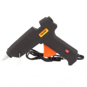 Клеевой пистолет SPARTA 93033, 11 мм, в кейсе, 80 Вт, 6 г/мин, с выключателем